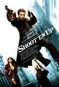 Shoot Em Up movie poster onesheet