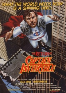 return of captain invincible magnum vhs ad